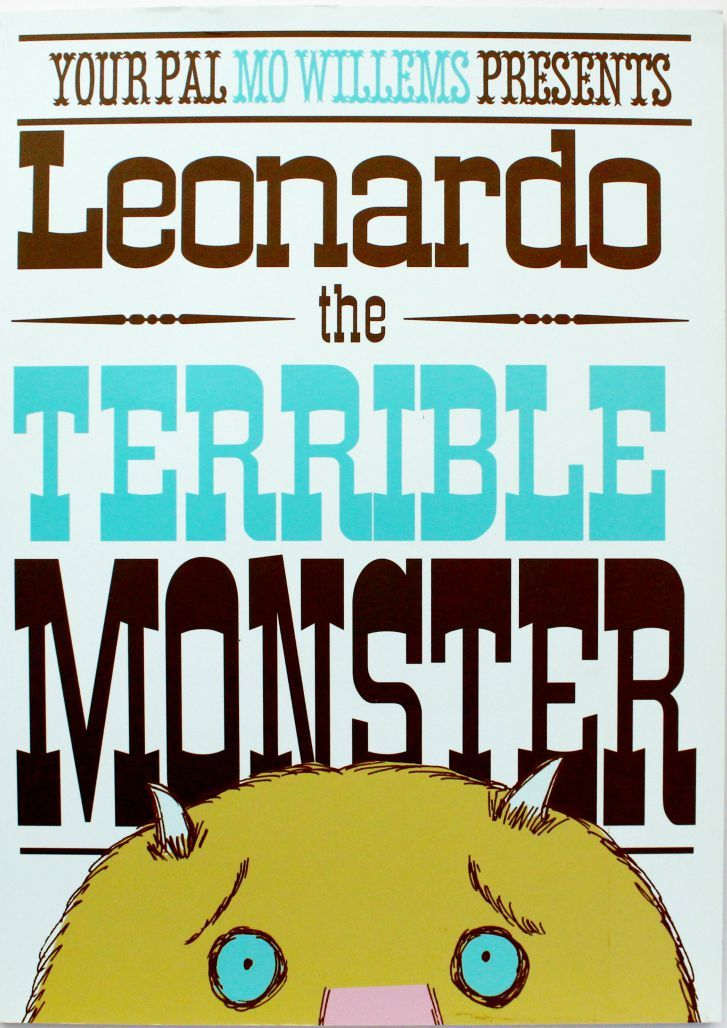 """Use the hilarious picture book """"Leonardo the Terrible Monster"""" by Mo Willems as a springboard into all kinds of fun Monster activities and play."""