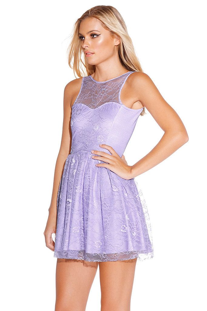 Lilac Juliette Dress - LIMITED