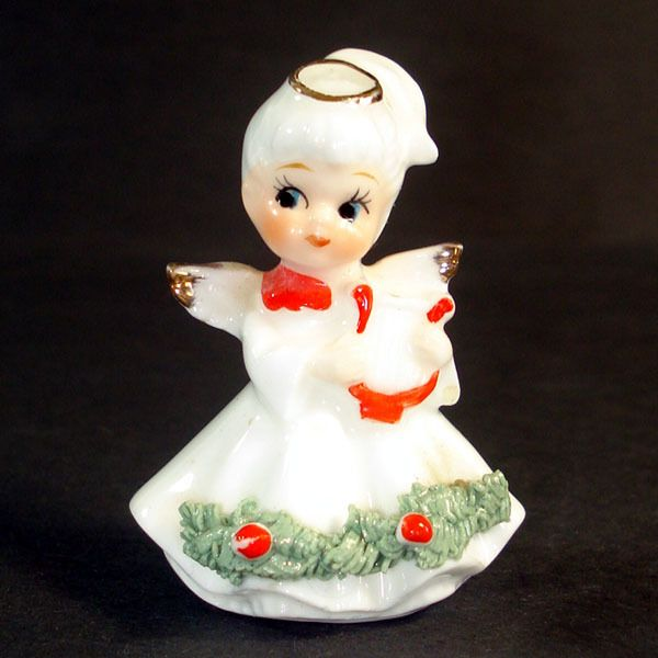 759 Best Christmas Figurines Images On Pinterest Retro