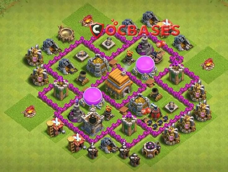 21+ Best TH6 Farming/Defense Base Links 2020 (New ...