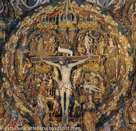 La escultura castellana de los siglos XV y XVI es bastante desconocida. Me propongo presentar algunas imágenes y textos que, desde un punto de vista laico, ayuden a su mejor conocimiento.