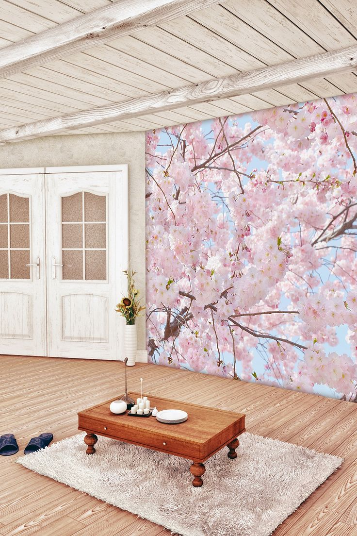 Pink Blossoms Wall Mural By Brewster Home Fashions On @HauteLook