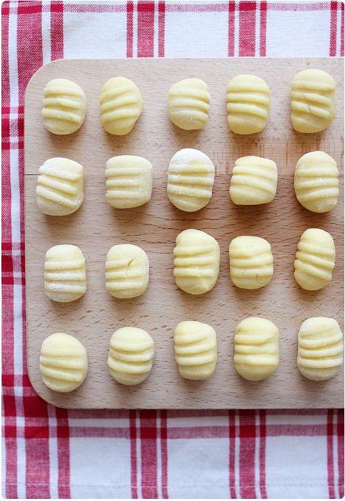 La recette des gnocchi en images