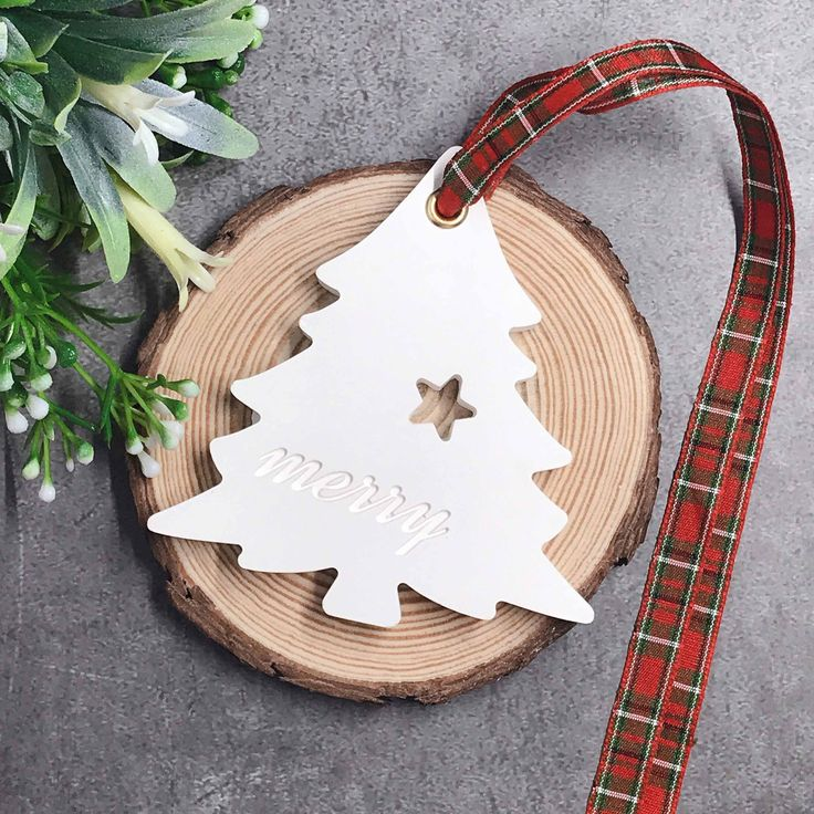 Scented Plaster Merry Tree Air Freshener Home Decor