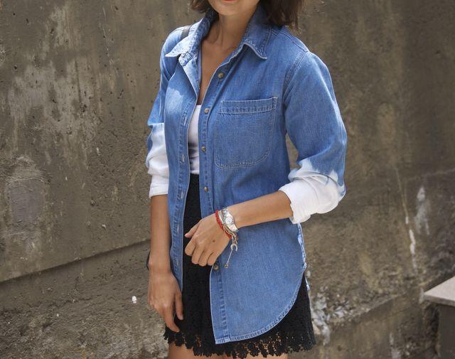 a pair and a spare . diy fashion: DIY Dries Van Noten Inspired Dip Dye Jacket