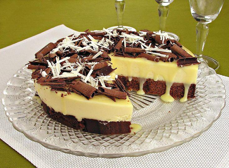 Receita de torta gelada de leite condensado