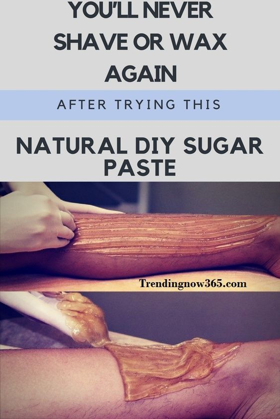 You'll Never Shave Or Wax Again After Trying This Natural DIY Sugar Paste.