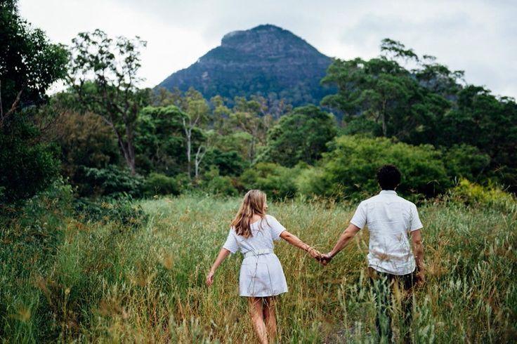 long grass wedding engagement photo locations brisbane