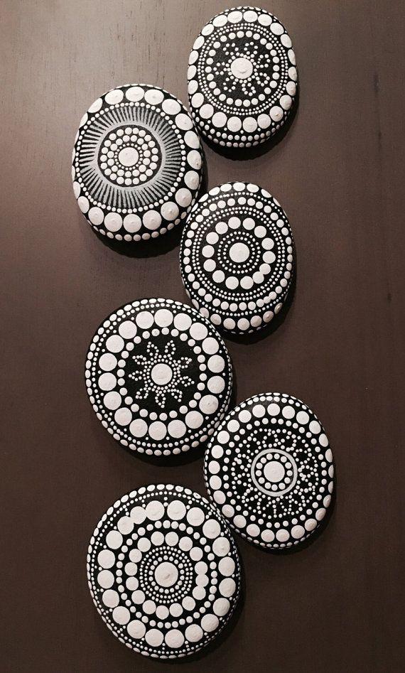 made to order ~ mandala stones
