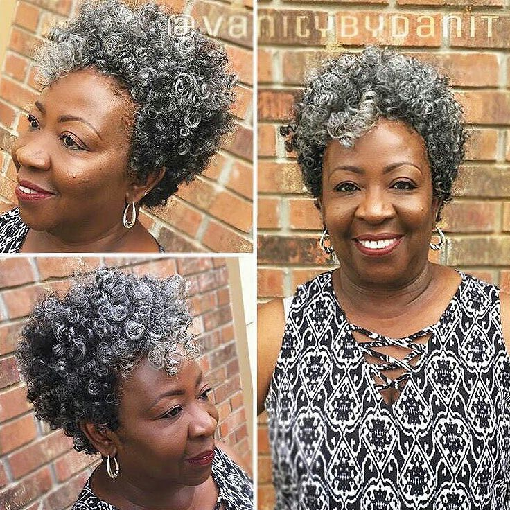 Amazing!! This beautiful diva is 77 YEARS OLD!! Not a typo people!!  #BlackDontCrack #GrayHair #GrayHairDontCare #GrayCrochetBraids #GrayStreak #NaturallyGray #SistaYourGrayHairIsBeautiful @Regrann from @latchednhooked -  When you living this is what 77 looks like! Styled by @vanitybydanit  #crochetbraids #latchednhooked #thecutlife #curlbox  #naturalhair #voiceofhair #protectivestyles #naturalhair #greyhair #grayhair #gray #grey #greyhairdontcare #readventures #reathegal #readagal
