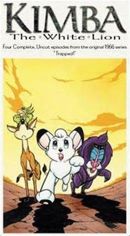 Kimba the white lion - I watched this as a kid and it's the first cartoon I remember.