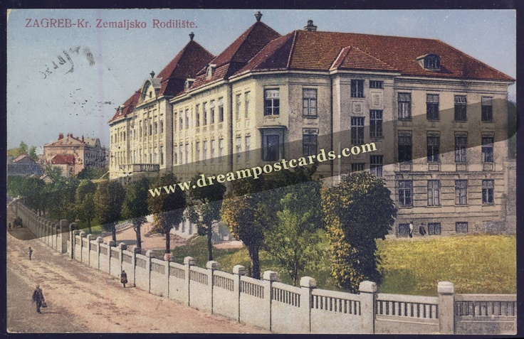 Dreampostcards Com Zagreb Maternity Hospital Croatia