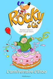 Ce 3ème tome des aventures de Rocky et Cie soulève ici une fois de plus un thème important : celui de la fête d'anniversaire.  http://histoiresetgourmanlises.com/2015/02/03/rocky-et-cie-t-3-lanniversaire-denzo-ed-pfefferkorn-2014/