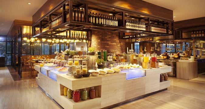 Hilton Foshan Kitchen Design In 2019 Hotel Buffet