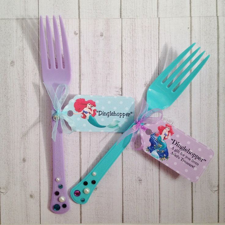 10 Dinglehoppers Ariel Little Mermaid Dinglhopper treasures Party Favor or Party Supplies Little Mermaid Party decorations by MichelleAndCompany on Etsy https://www.etsy.com/listing/239844822/10-dinglehoppers-ariel-little-mermaid
