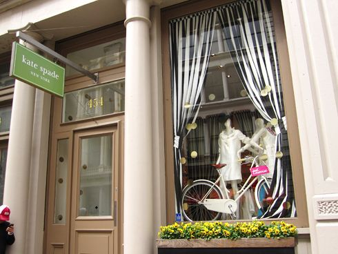 Original Kate Spade Location: The brand finds itself in many major department stores and their own boutiques across North American, sporting over 175 locations including internationally. The original SoHo Location is still open to this day.