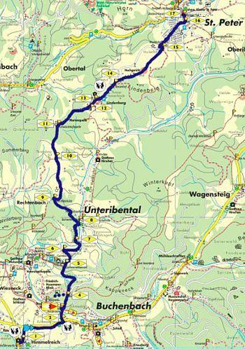Wandern im Schwarzwald - Feldberg, Belchen, Kandel rund um das Dreisamtal, buchenbach 5