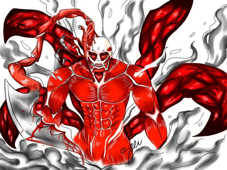 COLOSSAL GHOUL PARASITE TITAN! by ALImazing on DeviantArt
