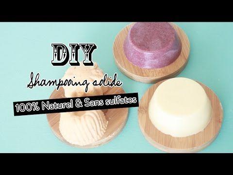 DIY | Shampooing Solide Naturel Sans sulfates | Shampoo bar sulfates free | Lush | Mamzelle Emie - YouTube