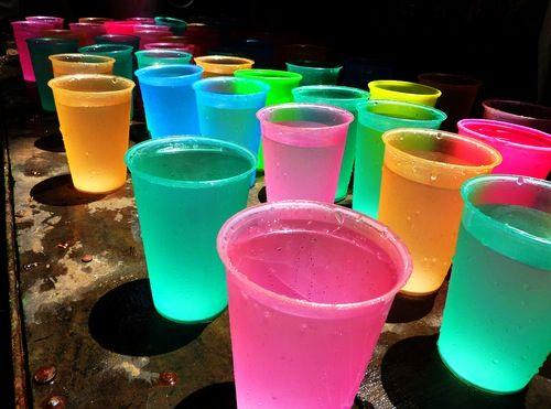 Neon drinks : Food : Pinterest : Neon and Drinks