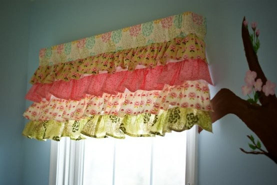 cute curtain for girls room