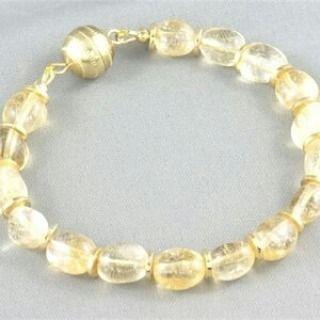 A beautiful Citrine gemstone nugget bracelet.  https://www.maxinefaye.com.au/product-category/bracelets/  #Citrine #gemstone #yellow #gold #nugget #gems #gemstones #gemstonejewelry #bracelet