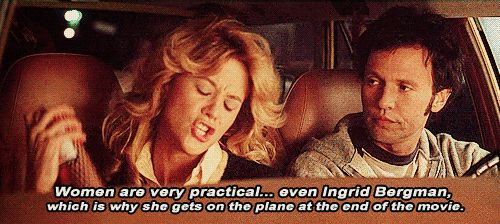 """""""Women are very practical..""""~ When Harry Met Sally (1989) ~ Movie Quotes #amusementphile"""