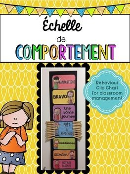 French Behaviour/Behavior Management (comportement)