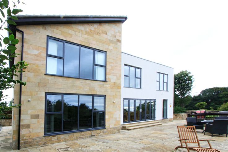 New contemporary home in west yorkshire natural ashlar for Modern house yorkshire