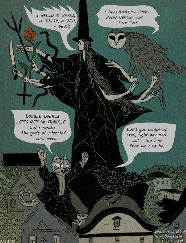"ghoulnextdoor: "" What Is A Witch? 