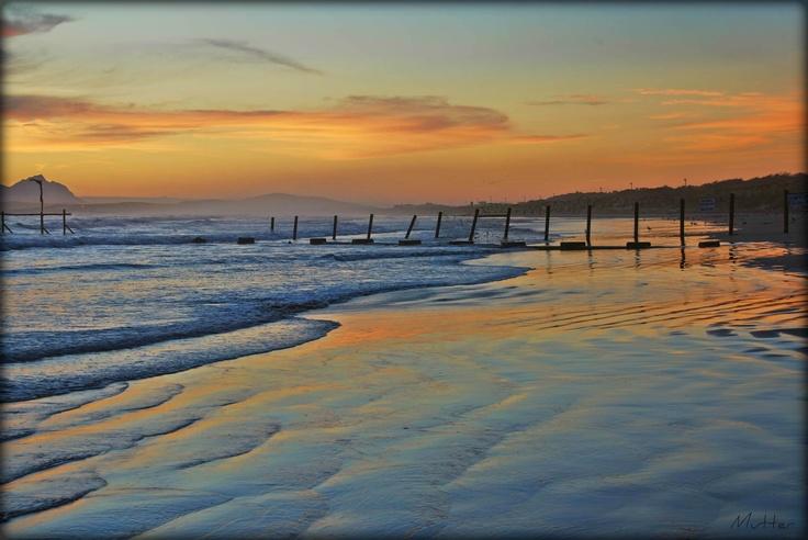 Sunset,Strand,South Africa.