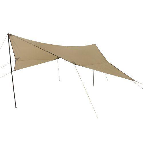 10T TARP III – Refugio parasol (500x500 cm), color beige