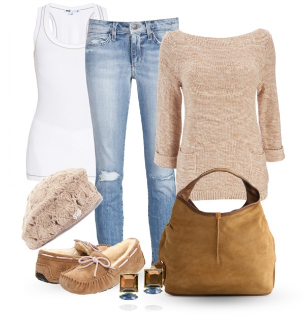 Casual outfit :) loooove those flats! Perfect for winter