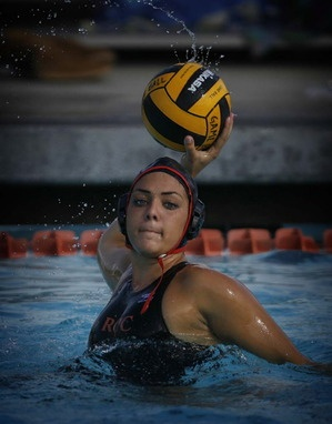 Riverside Community College's women's water polo team is ranked first in the state