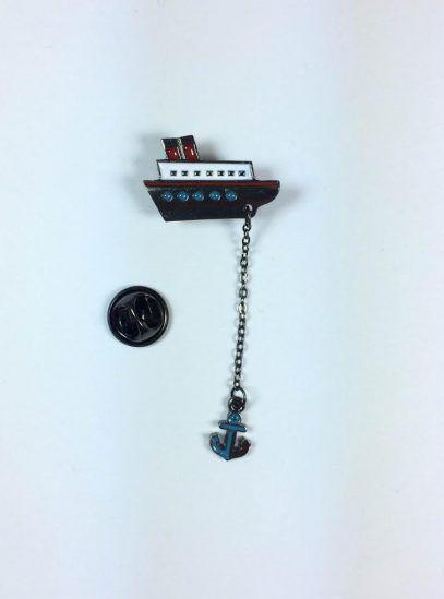 #Çapa #Broş #Pin #Yakaİğnesi #Vintage #Aksesuar #Giyim #VintageAksesuar