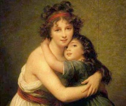 Szinyei Merse Pál: Anya gyermekével