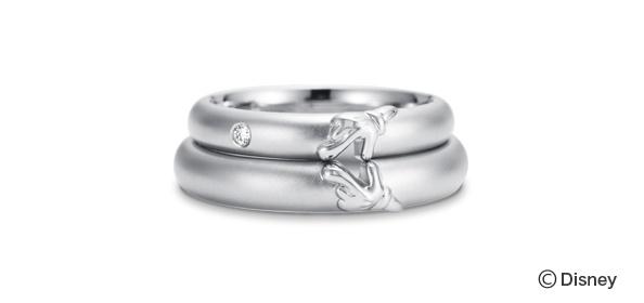Mickey Minnie Wedding Rings