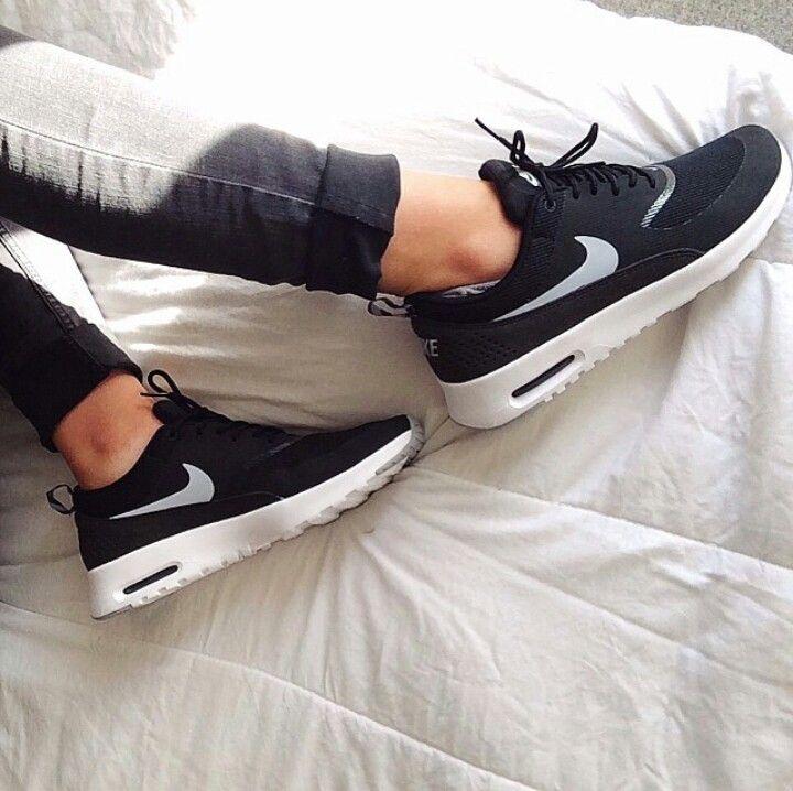 Nike Air Max Black And White Tumblr