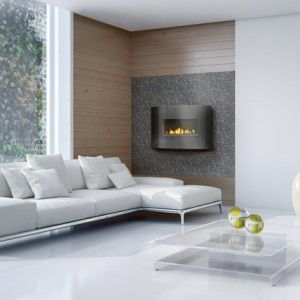 WHVF24 A vent free gas fireplace that simply hangs on your wall.  Virtually endless installation possibilities, it's almost as easy as hanging a picture on the wall.