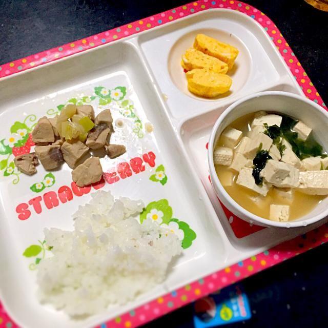 ⚫︎ブリの煮物 ⚫︎玉子焼き ⚫︎豆腐とわかめの味噌汁 - 8件のもぐもぐ - 子どもごはん by mamekoon