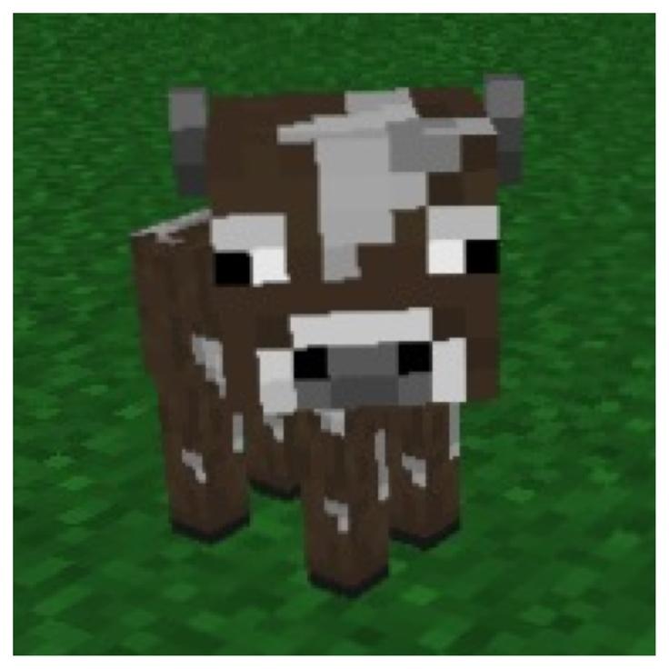 Корова картинки майнкрафт