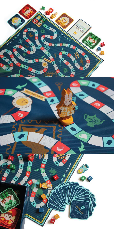 Alice in Wonderland on Behance