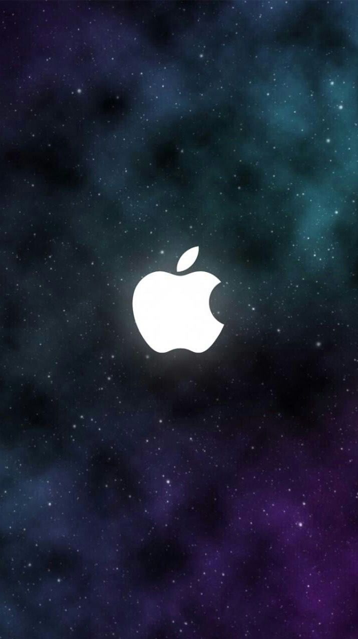 iPhone wallpaper Apple logo