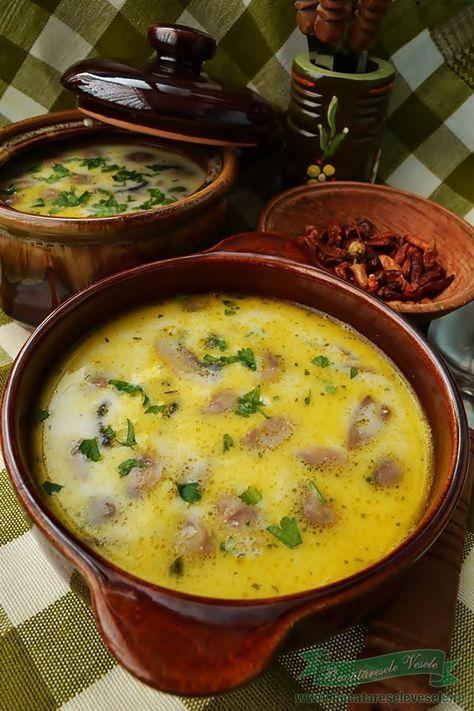 Supa de Ciuperci Dukan