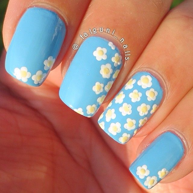 Floral Manicures For Spring And: 70 Best Images About Nail Art On Pinterest