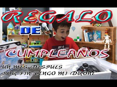 Regalo de CUMPLEAÑOS   Unboxing drone syma x5c   Un Mes Después Volamos ...