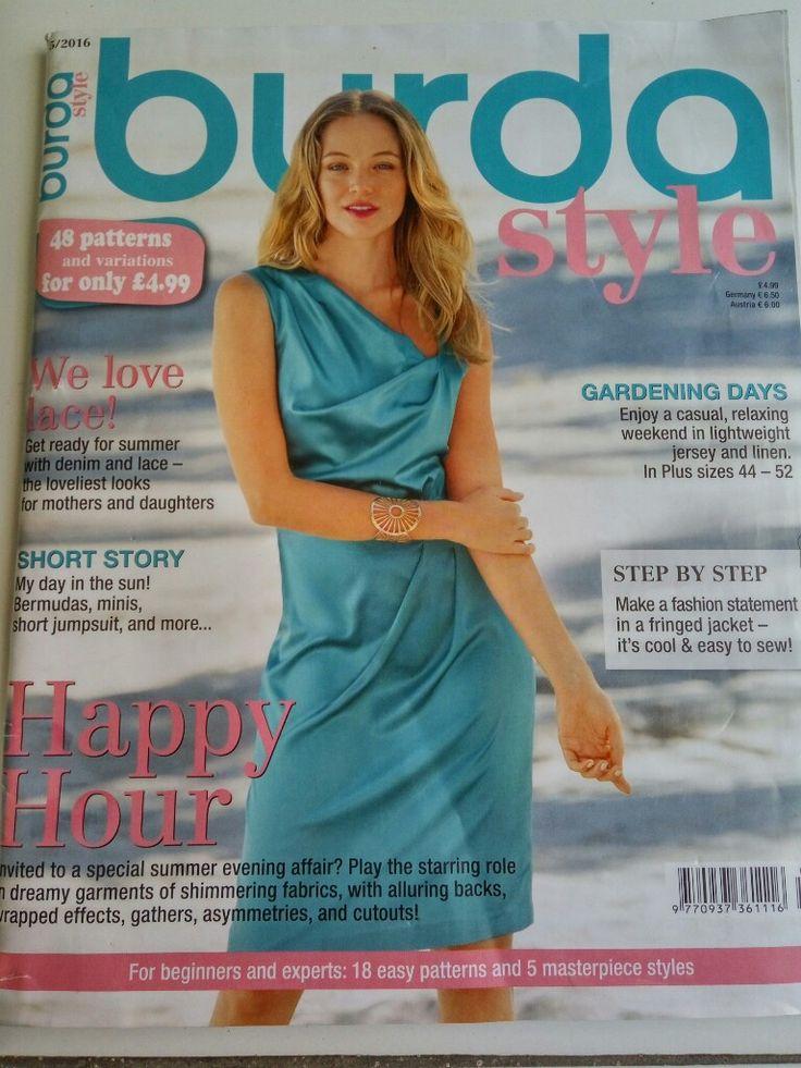 review majalah burda style
