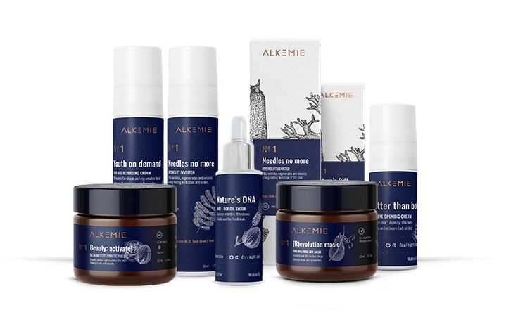 Alkemie is a whole new dimension of natural cosmetics. A combination of century-old traditions, the knowledge of herbalists, whisperers and healers, professors of botany, chemistry and physics, and the latest discoveries of cosmetology.
