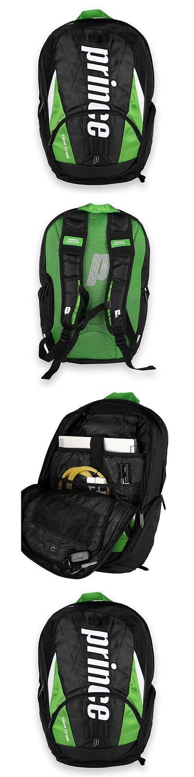 Other Racquet Sport Accs 159161: Prince Tour Team Green Nylon Backpack Tennis Bag -> BUY IT NOW ONLY: $47.44 on eBay!