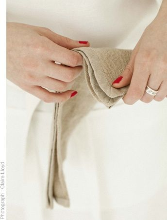 Linen scrim mat/cloth  www.thestanleysupplystore.com
